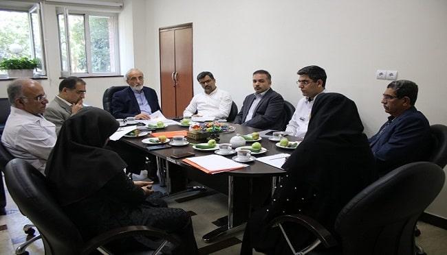 برگزاری جلسه بخش چشم مطالعه هم گروهی سلامت در بیمارستان فارابی