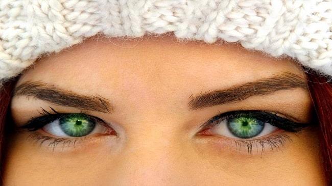 بهترین لنزهای رنگی برای خشکی چشم