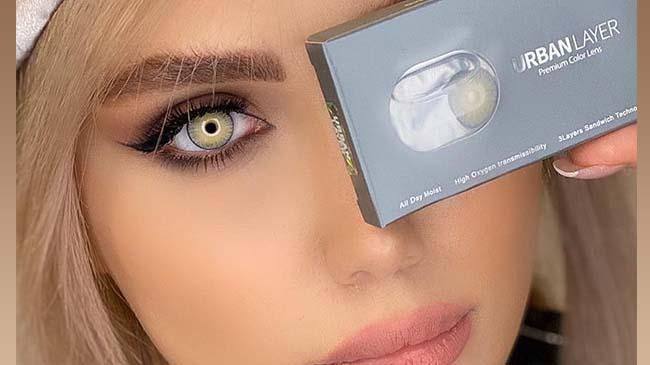 خرید لنزهای رنگی و طبی رنگی اوربان لایر