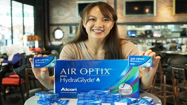 راهنمای لنزهای تماسی Air Optix