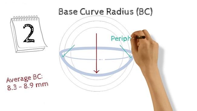 منحنی پایه لنز چیست؟