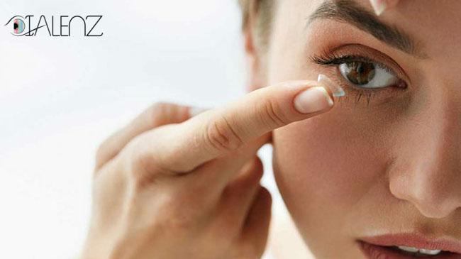 چه کسانی نباید از لنز تماسی استفاده کنند؟