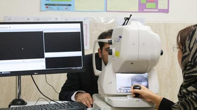 یک دستگاه OCT آنژیوگرافی در فارابی
