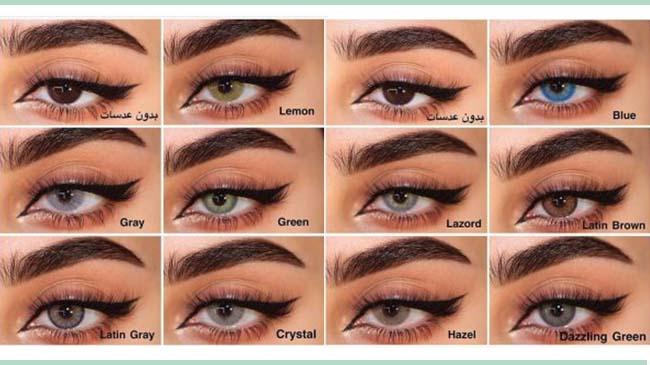 10 رنگ جذاب و زیبای لنز لومینوس