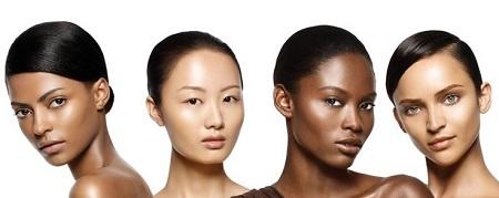 انتخاب لنز براساس رنگ پوست