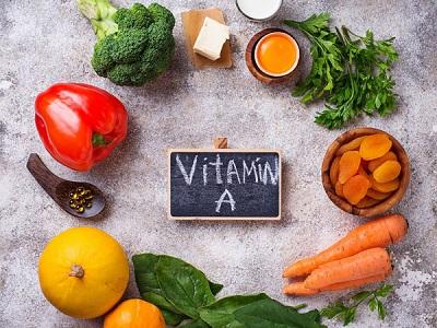 ویتامین A برای خشکی چشم - دیالنز