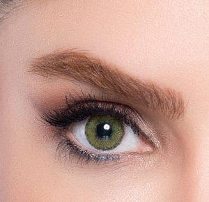 لنز رنگی سبز جنگلی