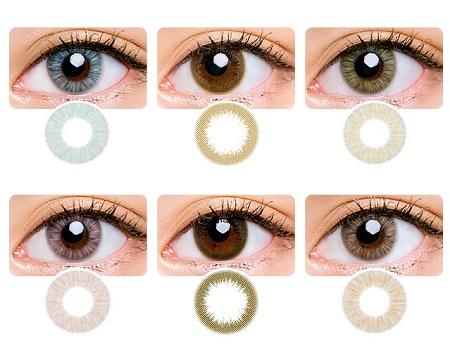 تخفیف لنزهای رنگی