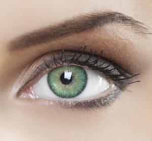 لنز رنگی برای خشکی چشم