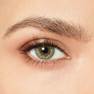 لنز تماسی رنگی سبز روشن دسیو