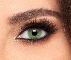 لنز تماسی رنگی سبز زمردی فرشلوک