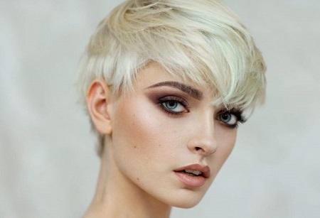 رنگ لنز برای موهای بلوند بهمراه قیمت امروز لنزهای فانتزی