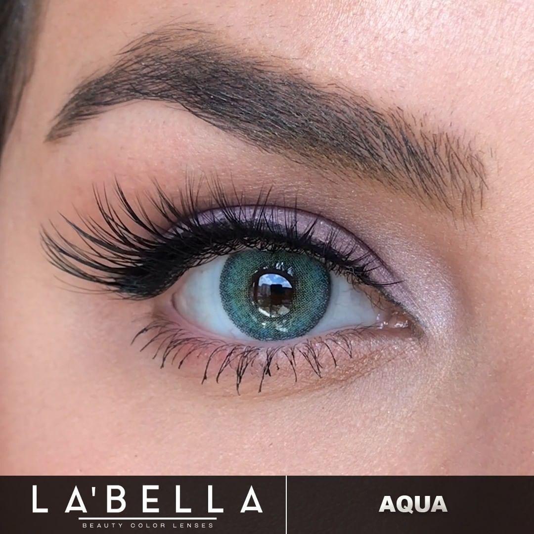 فروش لنز Aqua (آبی دوردار)  برند لابلا  بهمراه قیمت امروز لنز رنگی  و قیمت امروز لنز طبی