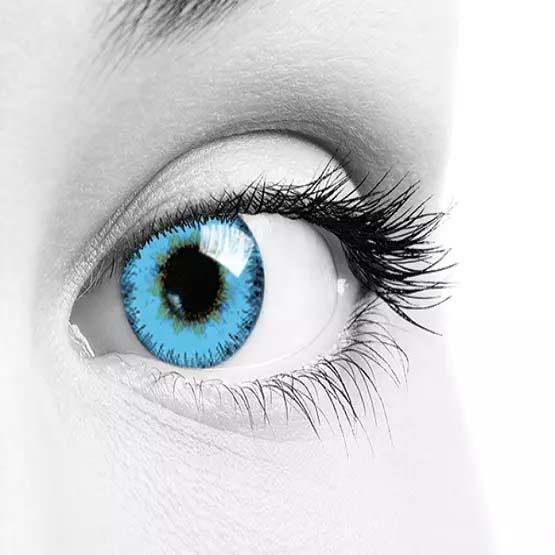 فروش لنز Blue (آبی) برند سولکو رنگی  بهمراه قیمت امروز لنز رنگی و قیمت امروز لنز طبی
