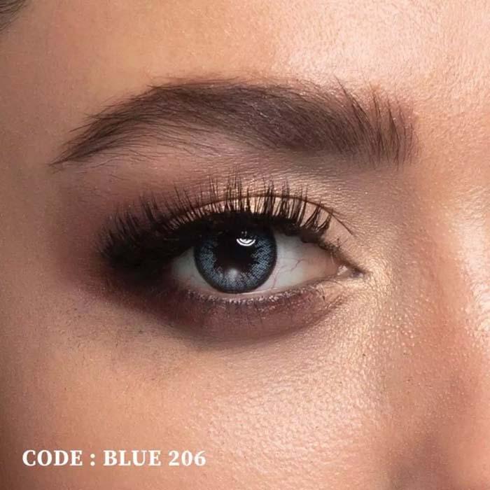فروش Blue 206 (آبی دوردار)  بهمراه قیمت امروز لنز طبی و قیمت امروز لنز رنگی