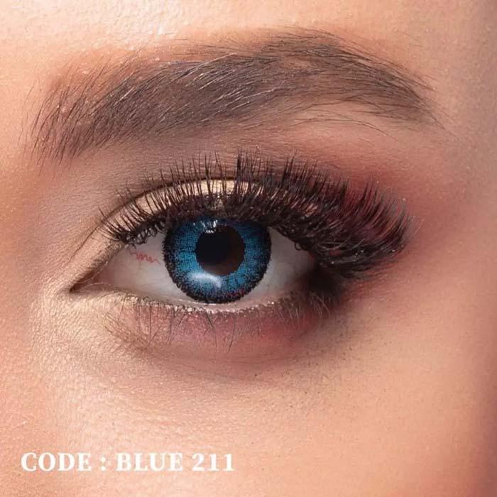 فروش Blue 211 (آبی دوردار)   بهمراه قیمت امروز لنز طبی و قیمت امروز لنز رنگی