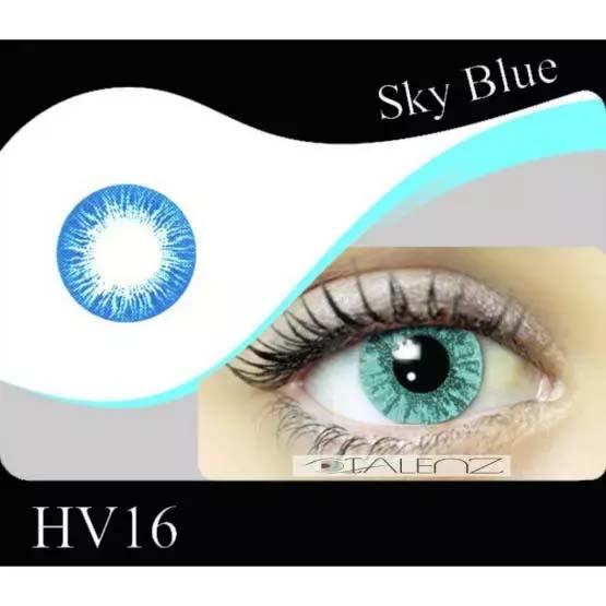 فروش HV 160 (آبی بدون دور)  بهمراه قیمت امروز لنز طبی و قیمت امروز لنز رنگی