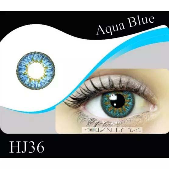فروش HJ 360 (آبی عسلی)  بهمراه قیمت امروز لنز طبی و قیمت امروز لنز رنگی