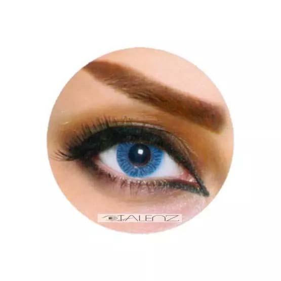 فروش  LB 102 (آبی بدون دور)  بهمراه قیمت امروز لنز طبی و قیمت امروز لنز رنگی