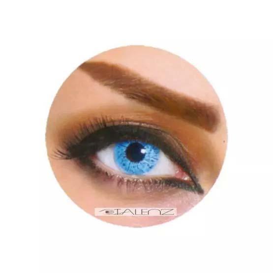 فروش  XKU 802 (آبی روشن بدون دور)  بهمراه قیمت امروز لنز طبی و قیمت امروز لنز رنگی