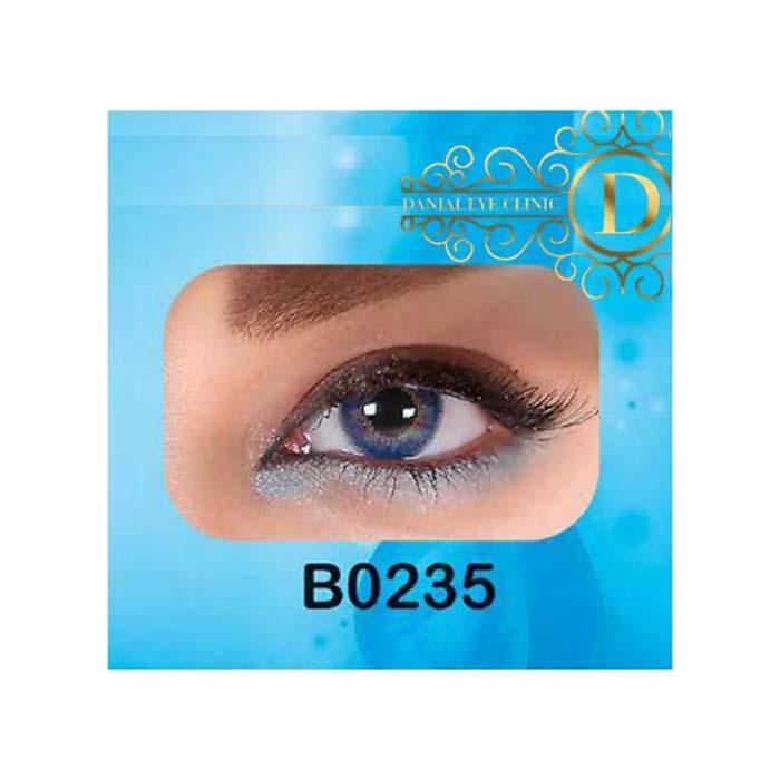 فروش لنز B0235 (آبی عسلی)   بهمراه قیمت امروز لنز طبی و قیمت امروز لنز رنگی