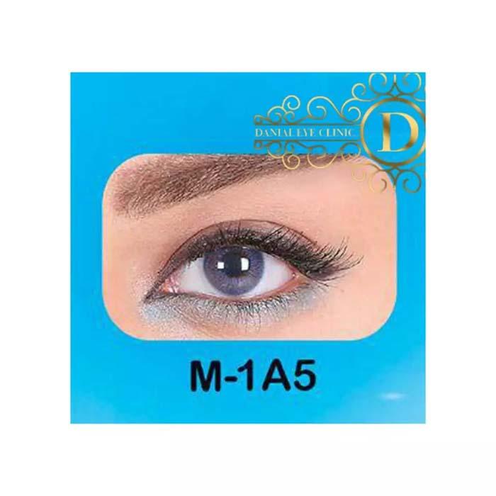فروش لنز  M1A5 (آبی بدون دور)   بهمراه قیمت امروز لنز طبی و قیمت امروز لنز رنگی