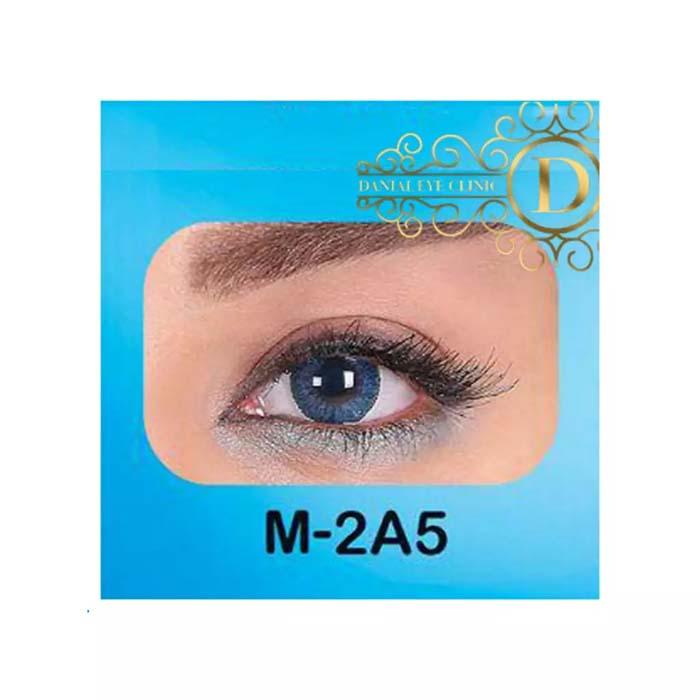 فروش لنز M2A5 (آبی دوردار)   بهمراه قیمت امروز لنز طبی و قیمت امروز لنز رنگی