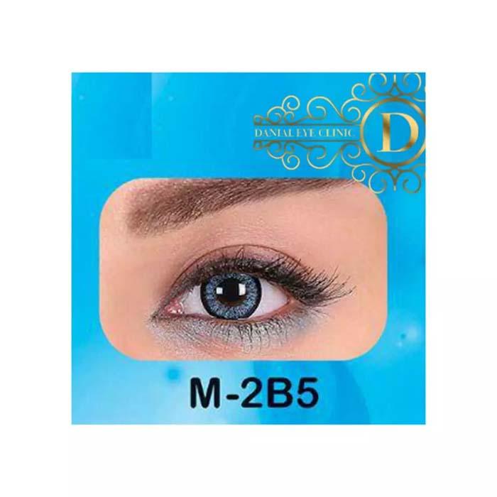 فروش لنز M2B5 (آبی دوردار)   بهمراه قیمت امروز لنز طبی و قیمت امروز لنز رنگی