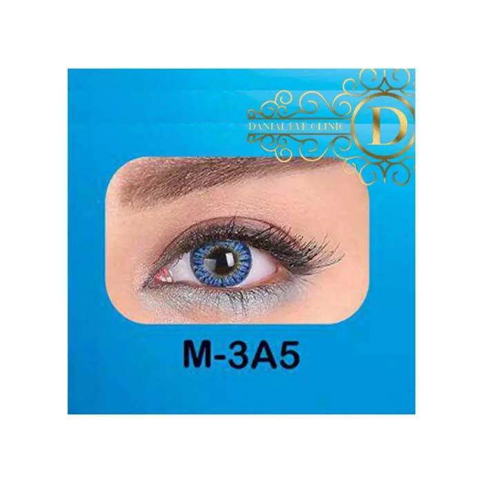 فروش لنز M3A5 (آبی عسلی)   بهمراه قیمت امروز لنز طبی و قیمت امروز لنز رنگی