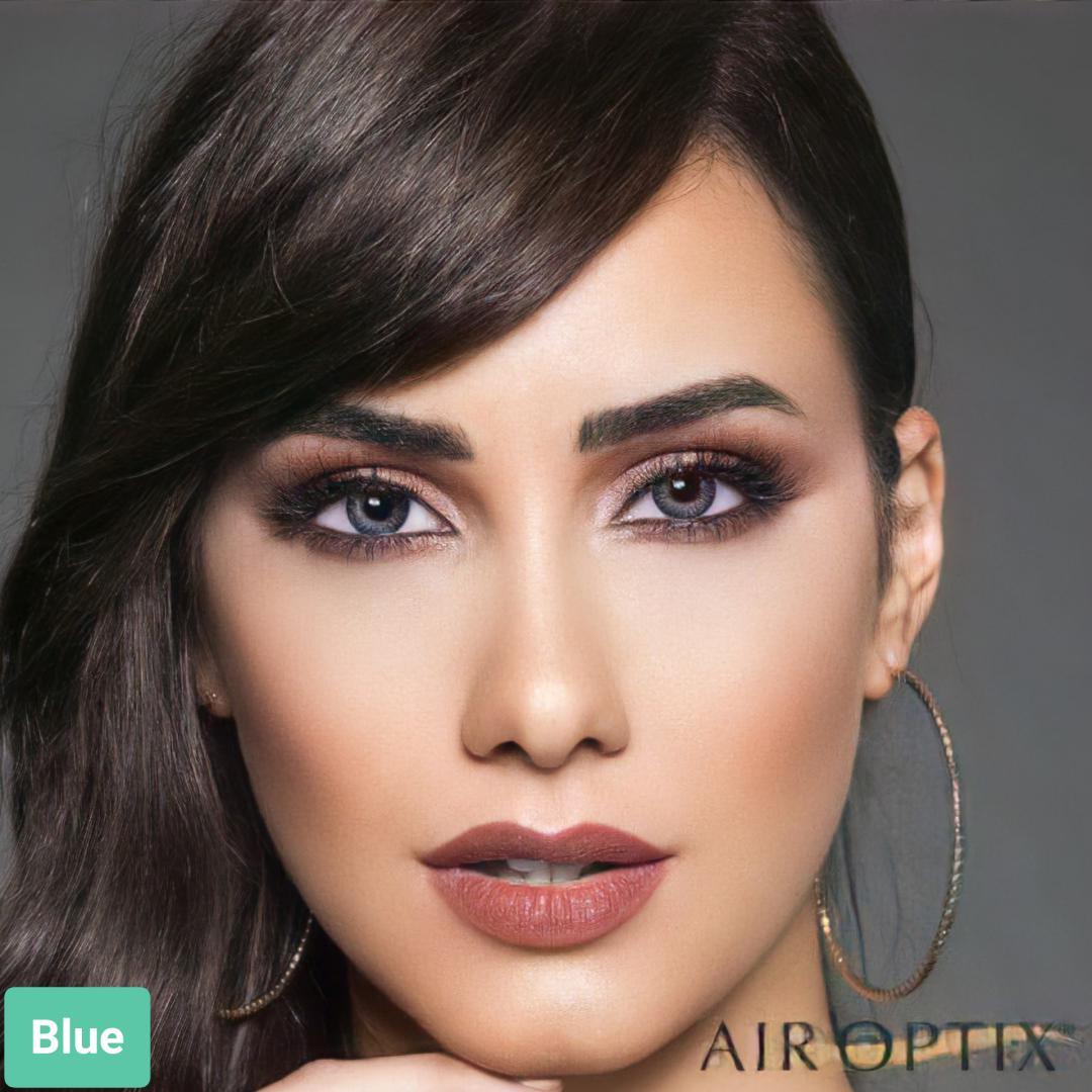 فروش لنز Blue (آبی عسلی)  برند ایراپتیکس رنگی  بهمراه قیمت امروز لنز رنگی و قیمت امروز لنز طبی