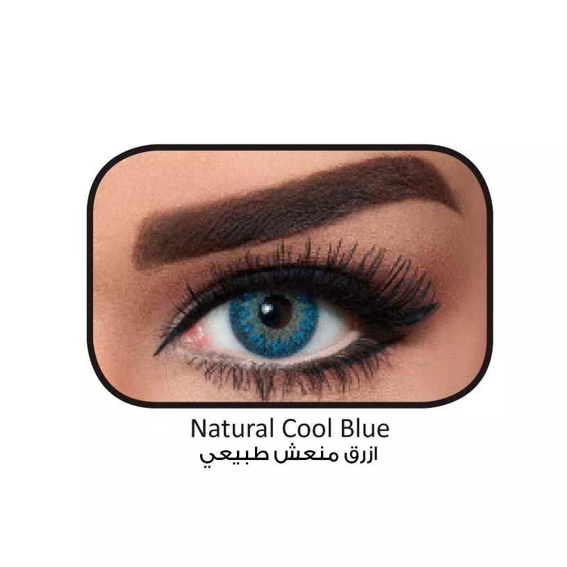 فروش لنزCool Blue (آبی عسلی) برند بلا  بهمراه قیمت امروز لنز رنگی  و قیمت امروز لنز طبی