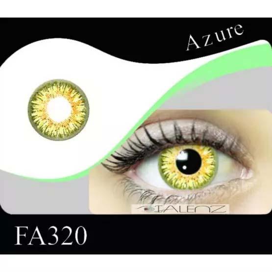 فروش FA 320 (عسلی سبز دوردار)   بهمراه قیمت امروز لنز طبی و قیمت امروز لنز رنگی