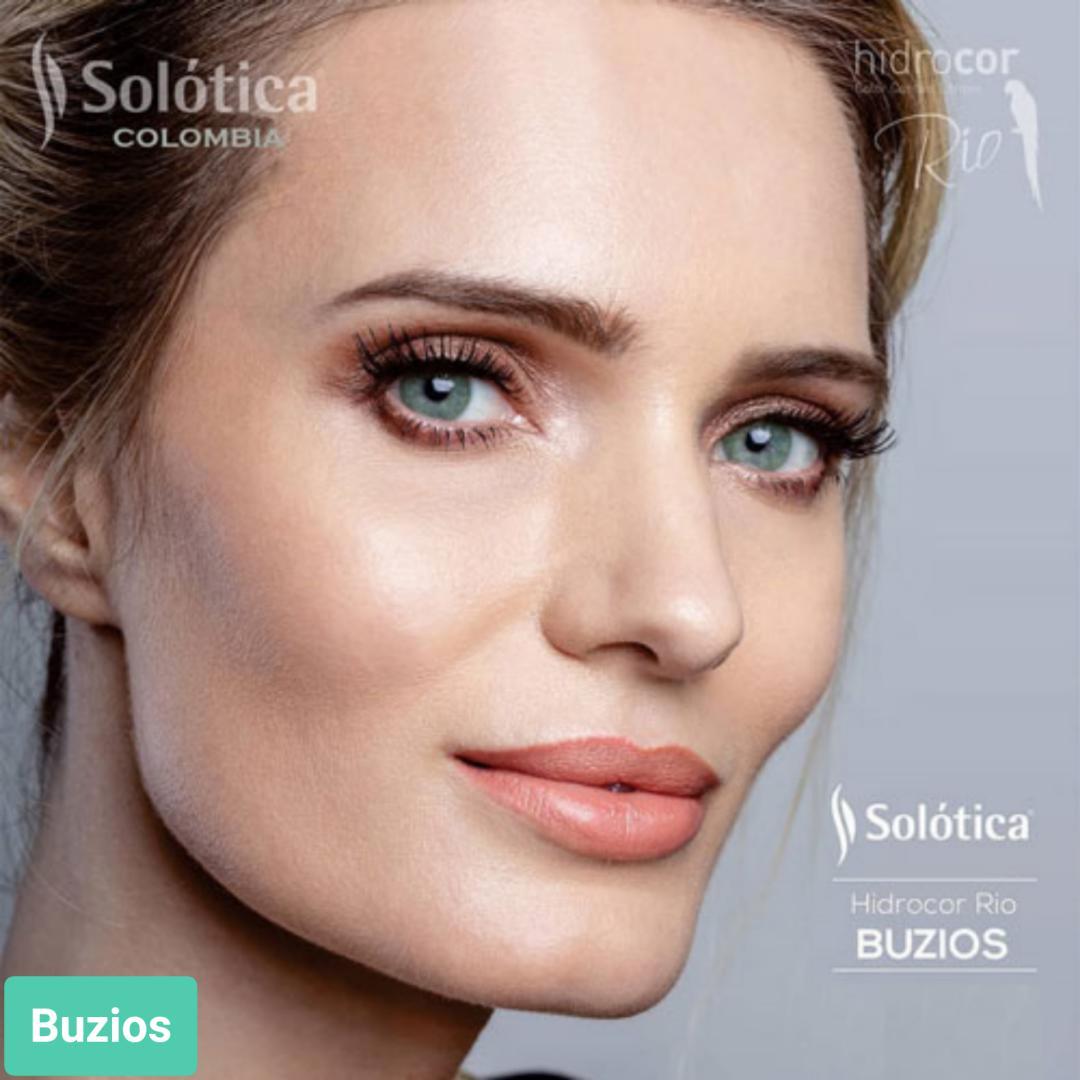 فروش لنز Buzios (سبز جنگلی)  برند شیخ بهمراه قیمت امروز لنز رنگی  و قیمت امروز لنز طبی
