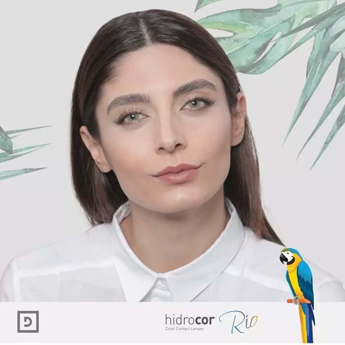 فروش لنزCopacabana (سبز بدون دور)  برند شیخ بهمراه قیمت امروز لنز رنگی  و قیمت امروز لنز طبی