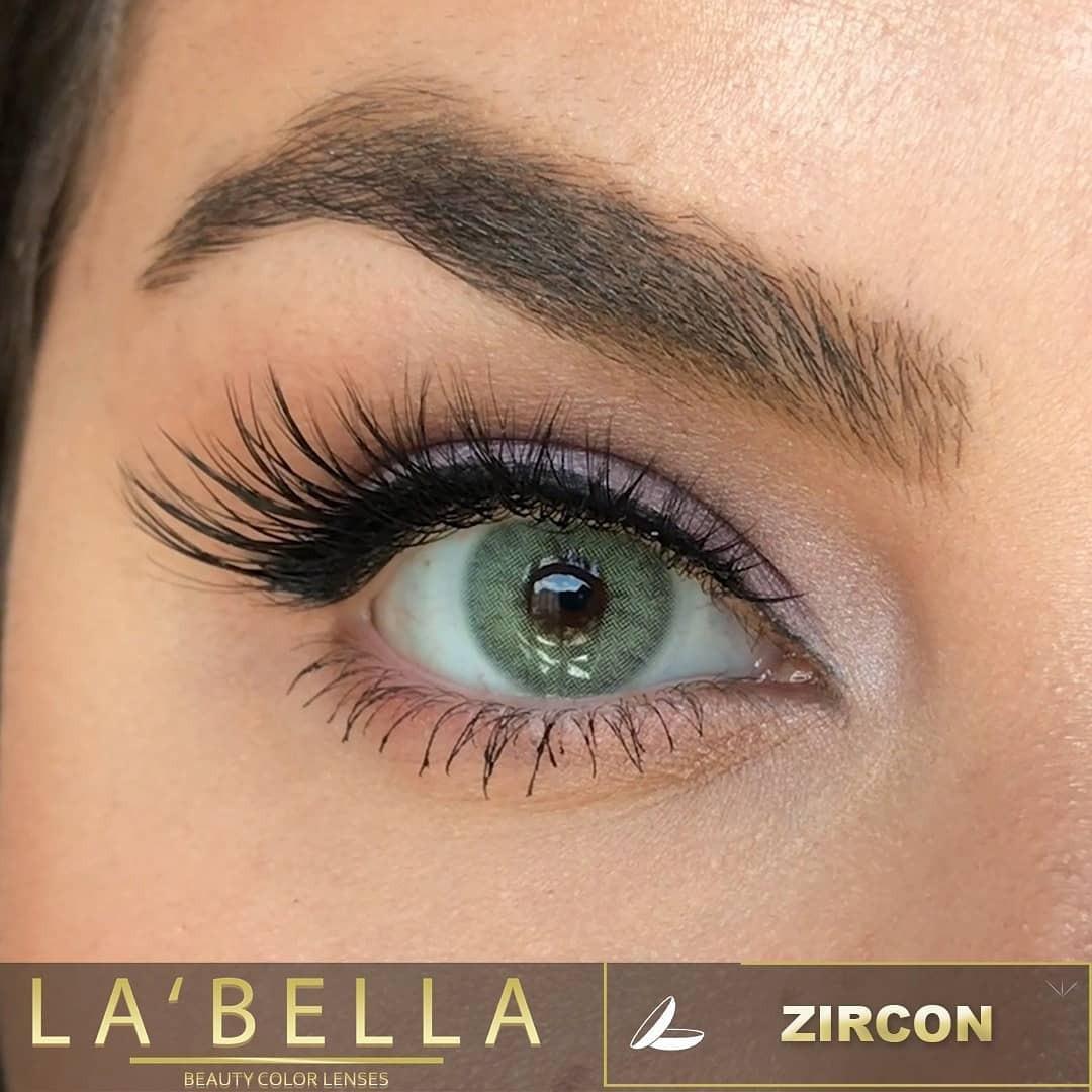 فروش لنز Zircon (سبز روشن تیله ای بدون دور) برند لابلا  بهمراه قیمت امروز لنز رنگی  و قیمت امروز لنز طبی
