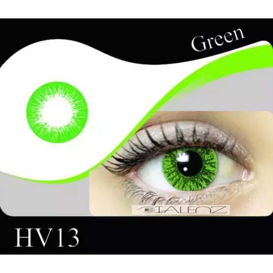 فروش  HV 130 (سبز بدون دور)   بهمراه قیمت امروز لنز طبی و قیمت امروز لنز رنگی