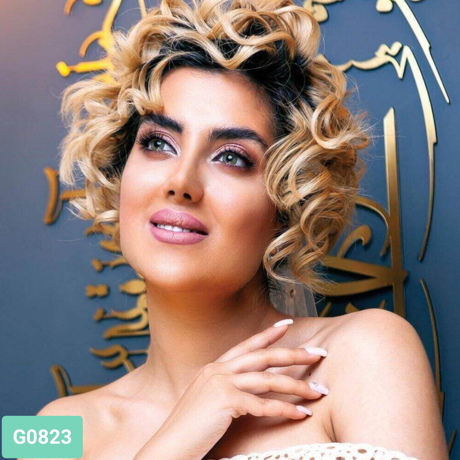 فروش لنز G0823 (سبز)  برند کلیرویژن رنگی بهمراه قیمت امروز لنز رنگی و قیمت امروز لنز طبی