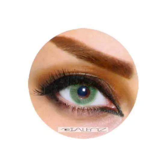 فروش  LB 103 (سبز بدون دور)   بهمراه قیمت امروز لنز طبی و قیمت امروز لنز رنگی