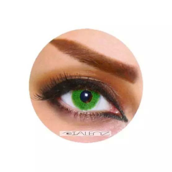 فروش  XKU 803 (سبز روشن بدون دور)   بهمراه قیمت امروز لنز طبی و قیمت امروز لنز رنگی