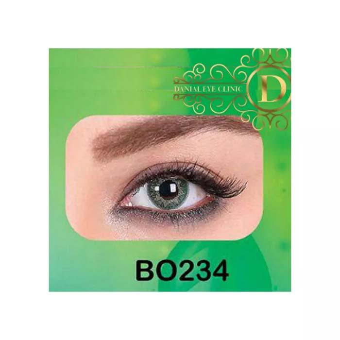 فروش لنز B0234 (سبز عسلی)   بهمراه قیمت امروز لنز طبی و قیمت امروز لنز رنگی