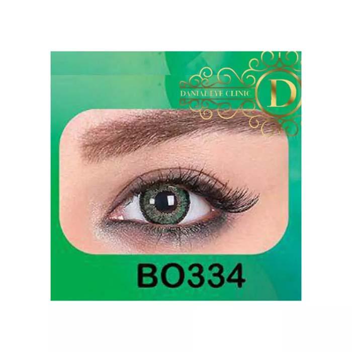 فروش لنز B0334 (سبز عسلی)   بهمراه قیمت امروز لنز طبی و قیمت امروز لنز رنگی