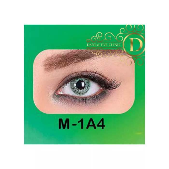 فروش لنز M1A4 (سبز بدون دور)   بهمراه قیمت امروز لنز طبی و قیمت امروز لنز رنگی
