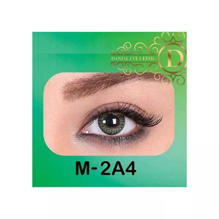 فروش لنز M2A4 (سبز دوردار)   بهمراه قیمت امروز لنز طبی و قیمت امروز لنز رنگی