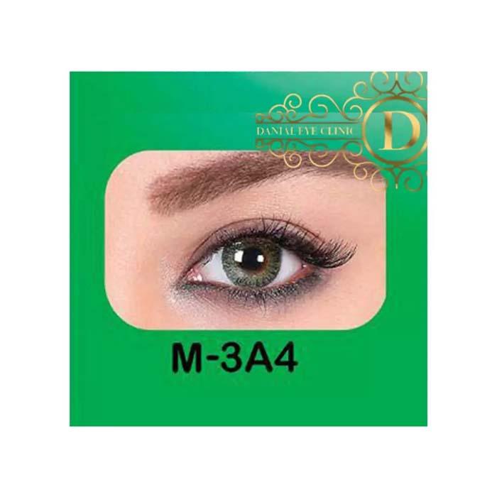 فروش لنز M3A4 (سبز عسلی)   بهمراه قیمت امروز لنز طبی و قیمت امروز لنز رنگی