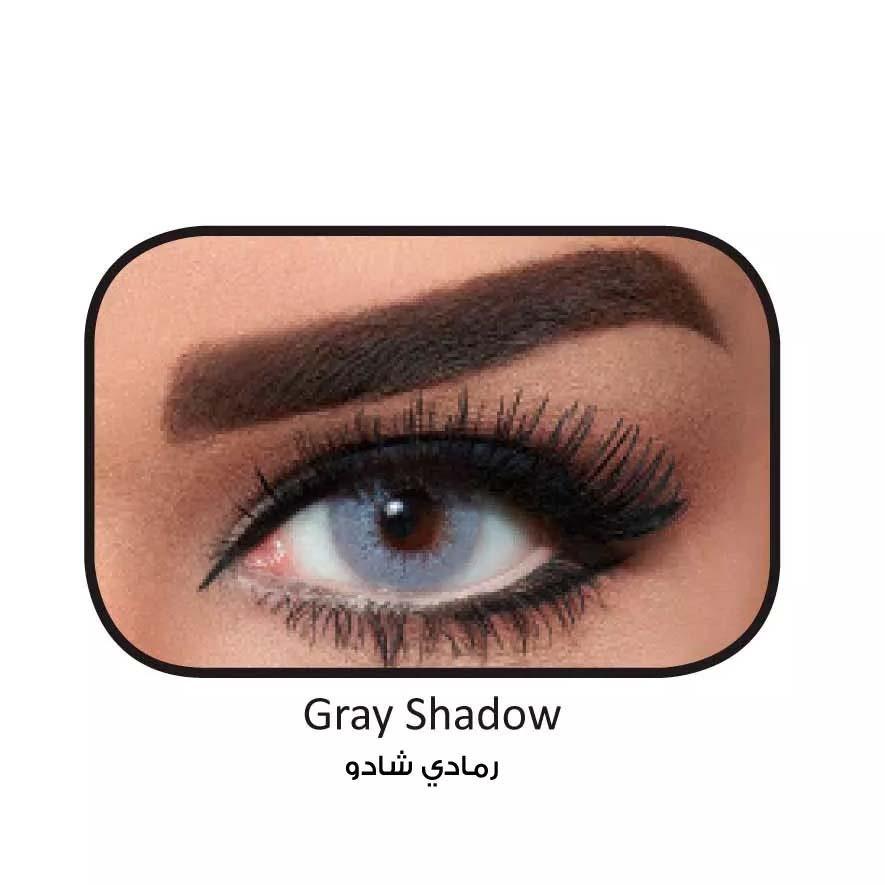 فروش لنزGray Shadow (طوسی ته مایه آبی بدون دور) برند بلا  بهمراه قیمت امروز لنز رنگی  و قیمت امروز لنز طبی