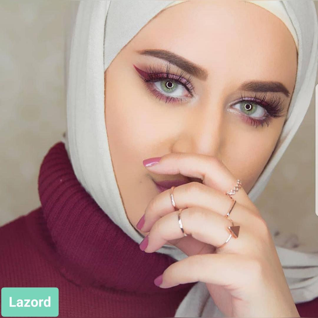 فروش لنز Lazord (طوسی سبز بدون دور)  برند لومینوس بهمراه قیمت امروز لنز رنگی  و قیمت امروز لنز طبی
