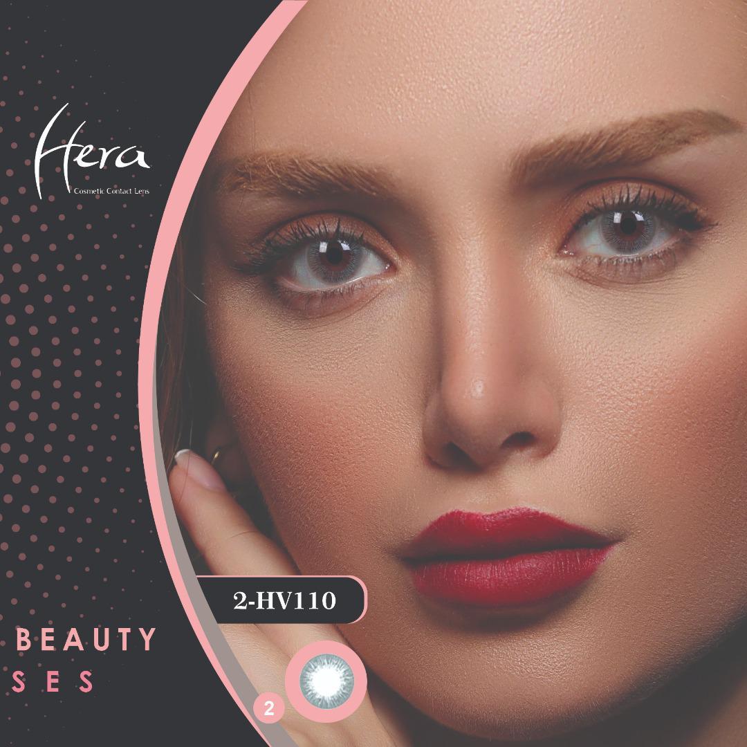 فروش لنز HV110 (طوسی تیره بدون دور) برند هرا رنگی بهمراه قیمت امروز لنز رنگی و قیمت امروز لنز طبی