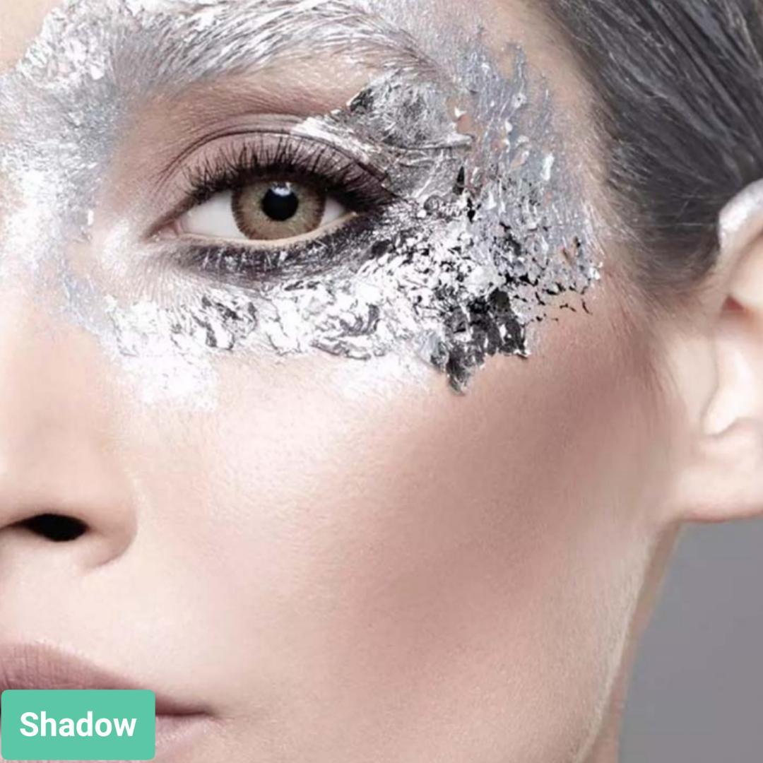 فروش لنز Shadow (عسلی خاکی دوردار)  برند آنستازیا بهمراه قیمت امروز لنز رنگی  و قیمت امروز لنز طبی