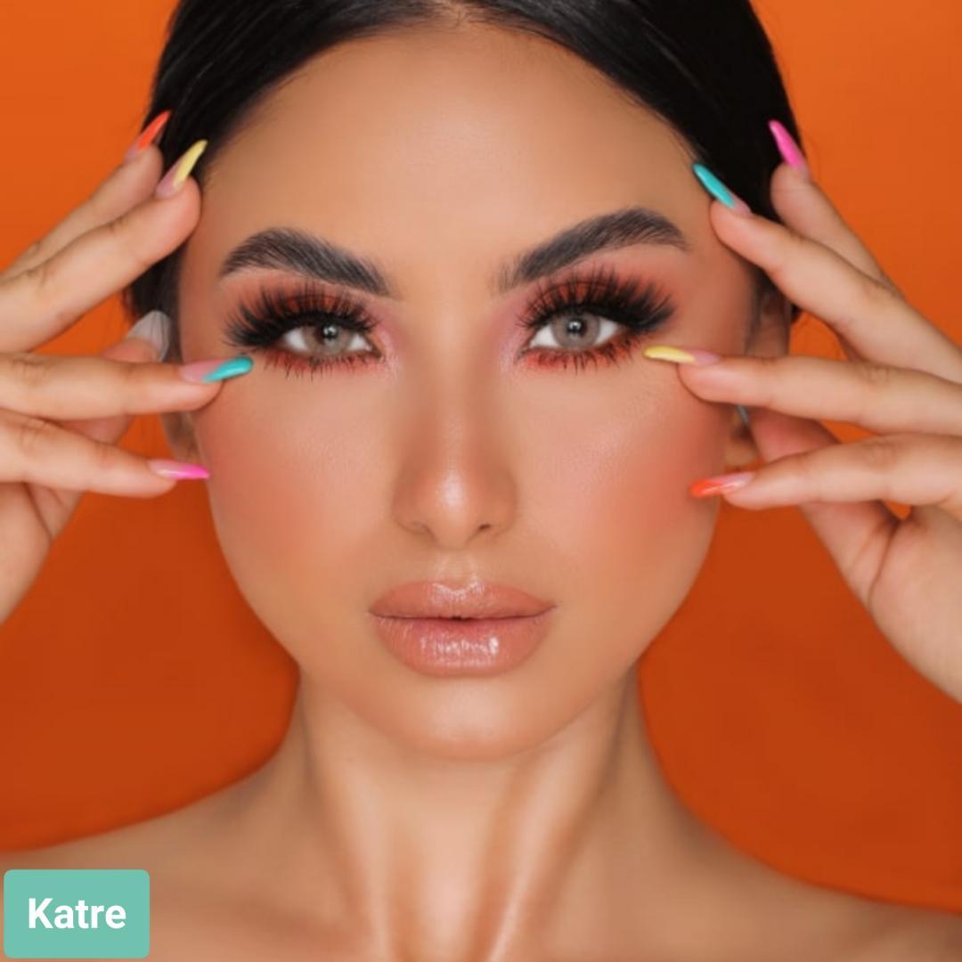 فروش لنز Katre (کاراملی دورمحو)  برند هیپنوس بهمراه قیمت امروز لنز رنگی  و قیمت امروز لنز طبی