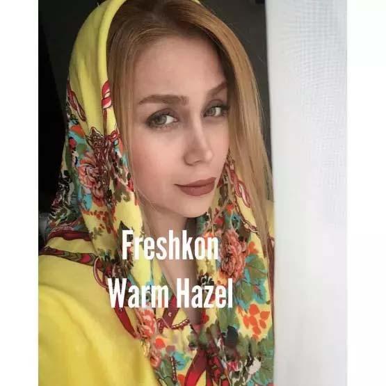 فروش لنز Warmhazel (عسلی طلایی)  برند فرشکن  بهمراه قیمت امروز لنز رنگی و قیمت امروز لنز طبی